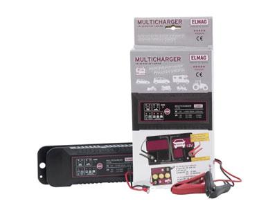 elmag automatisches batterieladeger t multicharger 6v 12v. Black Bedroom Furniture Sets. Home Design Ideas